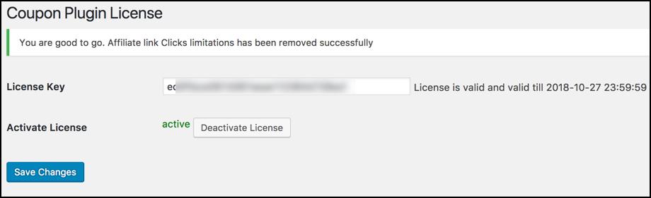 license active