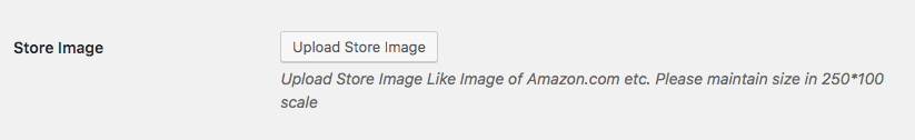 upload store image button